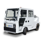 Tow tractor / with towbar / for luggage trolleys / trailer TE.425 CHARLATTE MANUTENTION