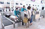 belt conveyor / baggage / check-in / horizontal