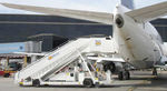 boarding stairs / self-propelled / mobile / for aircrafts