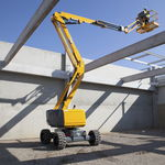 aerial platform / maintenance / articulated