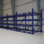 multi-level storage system / for pallets / for airports