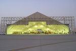 telescopic hangar door