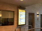 information sign / advertising / digital / for airport terminals