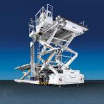 scissor high loader / telescopic / freight / diesel