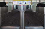 Belt conveyor / baggage / check-in / horizontal Check-In VANDERLANDE