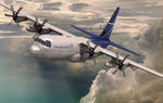 Long-range commercial cargo aircraft / turboprop / high wing LM-100J LOCKHEED MARTIN CORPORATION