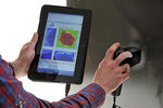 3D imaging flaw detector / for aeronautics