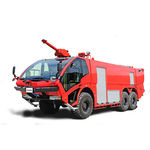 airport fire truck / 6x6 / with telescopic water cannon