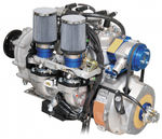 2-stroke piston engine / in-line / 2-cylinder / for ULMs 3503 E/V Göbler Hirthmotoren GmbH & Co. KG