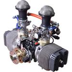 10 - 50hp piston engine / 0 - 10kg / 2-stroke / 2-cylinder