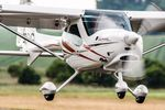 piston engine ULM aircraft / 2-seater / high wing