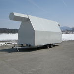 gyrocopter hangar / temporary / for airports