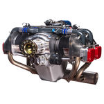 4-stroke piston engine / flat / 4-cylinder / for ULMs
