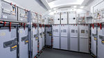 aircraft galley / with trash compactor