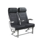 aircraft seat / economy class / with armrests