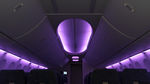 Aircraft cabin lighting / LED / sidewall / ceiling  BAE Systems