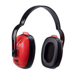 high-attenuation hearing protection earmuff / for airports