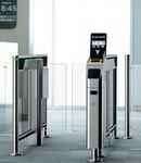 Automatic boarding gate with RFID reader / with barcode reader / for airports IER 710 IER Blue Solutions