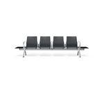 Airport beam chairs / aluminum / polyurethane / multiplace 8300 V-Travel Kusch+Co GmbH & Co. KG