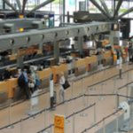 check-in counter / boarding / sales / for airports