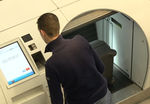 self-service bag drop / with check-in / for airports