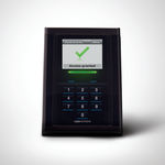 smart card reader / with integrated keypad / for access control / for airports