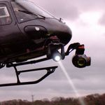 LED searchlight / for helicopters
