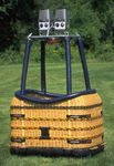 Non-partitioned hot air balloon basket / rectangular / passenger ride NON-PARTITIONED BASKETS Aristocrat 58 Cameron Balloons US