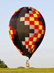 tourism hot air balloon / with burner / with basket