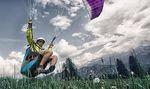 paragliding free flight harness / single