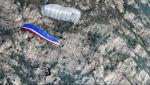 cross parachute / reserve / monoplace