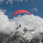 mountain paraglider / performance / intermediate / monoplace
