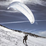 beginner paraglider / mountain / monoplace
