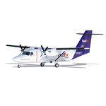long-range commercial cargo aircraft / 0 - 50 t / turboprop