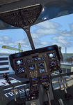helicopter simulator / cockpit