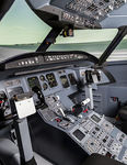 aircraft simulation cabin / cockpit