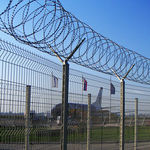 safety fence / welded / bar / for airports