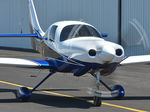piston engine private plane / 4-seater