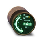 temperature gauge / electronic / oil / for aircraft