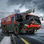 airport fire truck / 4x4 / 6x6