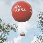 large gas balloon / advertising / for long-distance flights / passenger transport