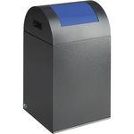 airport waste bin / floor-mounted