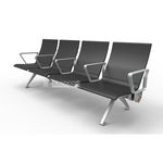 airport beam chairs / 3-seater / 4-seater / metal
