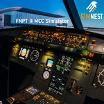 training simulator / flight / aircraft / cockpit