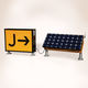 directional sign / static / for runways / LED