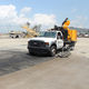 truck-mounted cleaning machine / for surface cleaning / water-jet / for runways