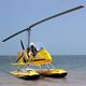 two-seater gyroplane / tandem / open canopy / with floats