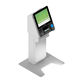 check-in kiosk with passport reader / with boarding pass reader / with RFID reader / with printer