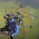 tandem paramotor cart / single-seat / with engine