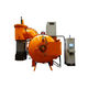 gas furnace / tubular / for aeronautics